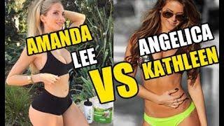 Super Hot Fitness Model - Amanda Lee VS Angelica Kathleen