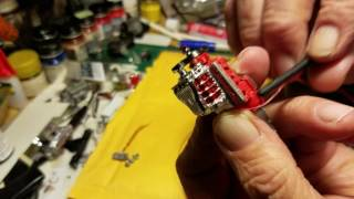 How to Make Distributor cap from tubing! 1/25 scale