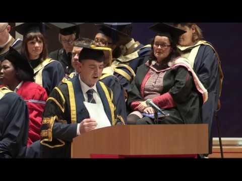 Birmingham City University Graduation, 10th Jan 2017. PM.