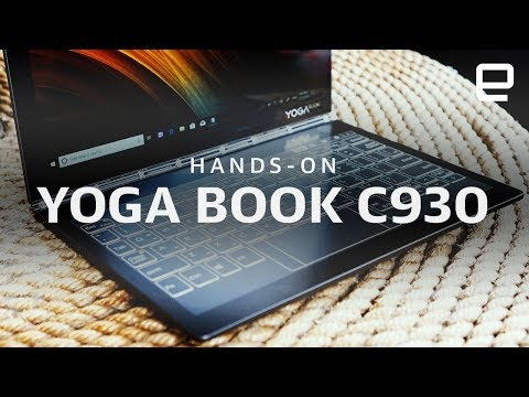 Lenovo Yoga Book C930 Hands-On at IFA 2018