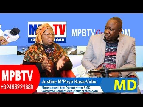 """RDC-Deuxième Dialogue: """"Rassemblements+Majorité=Incurie, Désinvolture"""", déclare Justine Kasa-Vubu"""