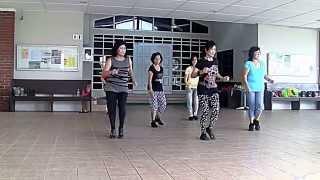 GLORIA (AB) line dance (Rosie Multari) Jan 2015