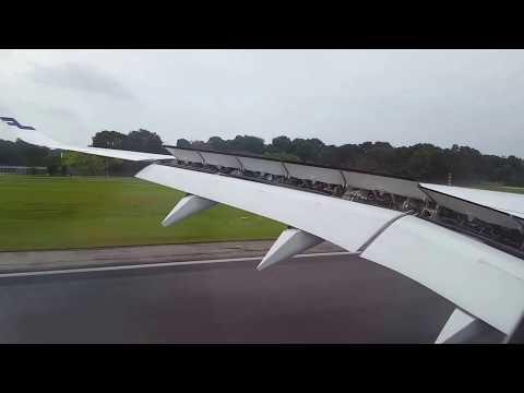 Finnair A350 Landing In Singapore Rwy 2L
