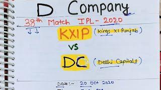 KXIP vs DC 38th T20 Match Prediction | Kings xi Punjab vs Delhi Capitals | Kxip vs dc WHO WILL WIN,