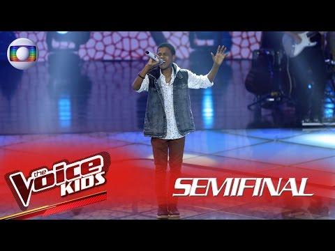 Juan Carlos Poca interpreta 'Desculpe, mas eu vou chorar' no The Voice Kids Brasil - Semifinal