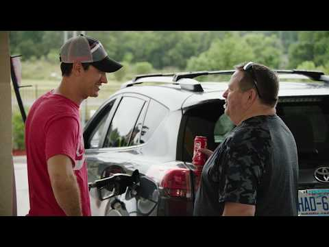 Coca-Cola and Joey Logano Surprise Customers With a Coke #1