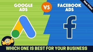 Facebook Marketing Vs Google Ads | Which Paid Advertising Should You Use For Online Marketing Video