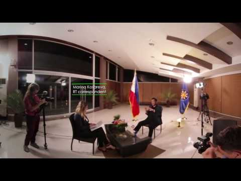 Project Duterte: Exclusive Interview with President Duterte in 360