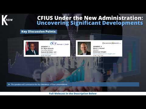 CFIUS Under the New Administration