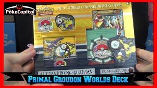 Pokemon Cards 2015 World Championships Primal Groudon Deck Opening - Junior Finalist