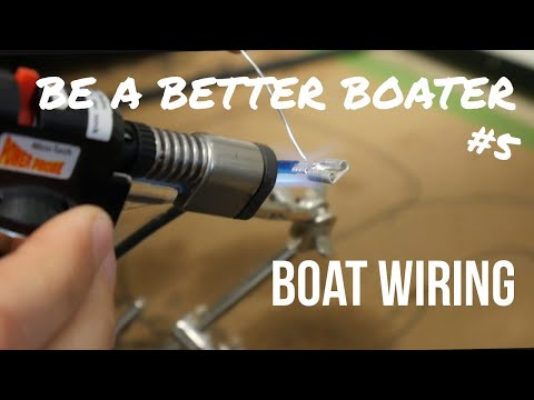 How to make a marine corrosion resistant wire connection✅ BE A BETTER BOATER #5 (Breen Marine)