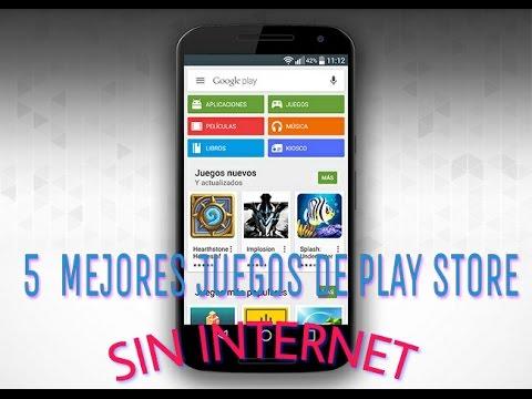 5 Mejores Juegos De Play Store Sin Internet Youtube