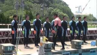 海上保安大学校 第59回海神祭 (わたつみさい) 潜水研修実演 1/2