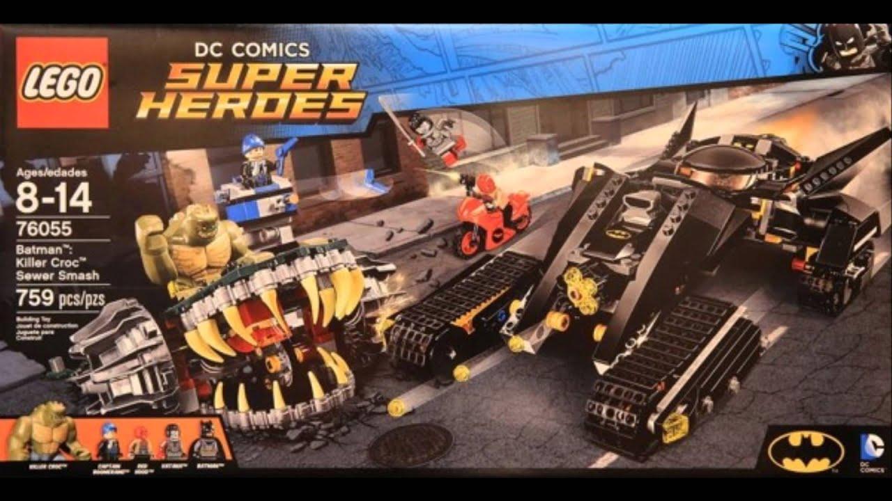 Lego Batman 2016 Summer Sets - Analyze - YouTube