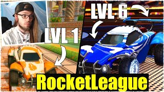 DIE LEVEL UP CHALLENGE! - Rocket League [Deutsch/German]