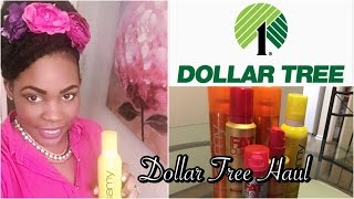 Haircare Galore at local dollar store - Dollar Tree Haul