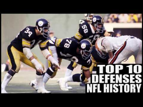 Top 10 Best Defenses in NFL History