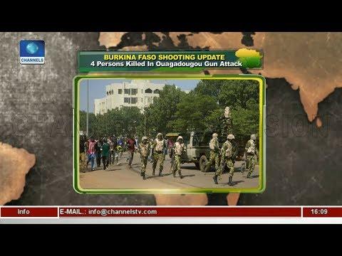 4 Persons Killed In Ouagadougou Gun Attack |Network Africa|