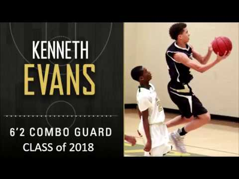 Kenneth Evans  Combo Guard- Class of 2018