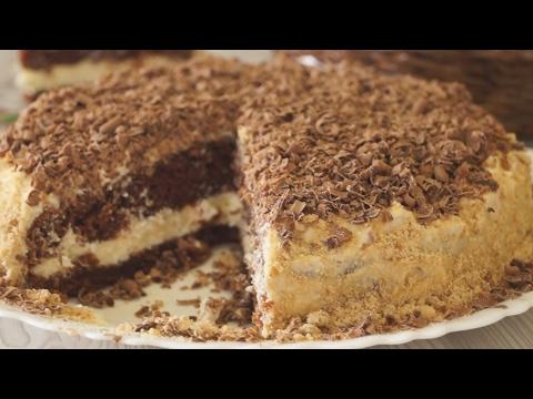 Торт шоколадный Ретро кулинарный рецепт