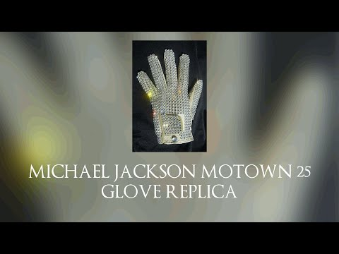 Michael Jackson Motown 25 Glove Replica Review And About