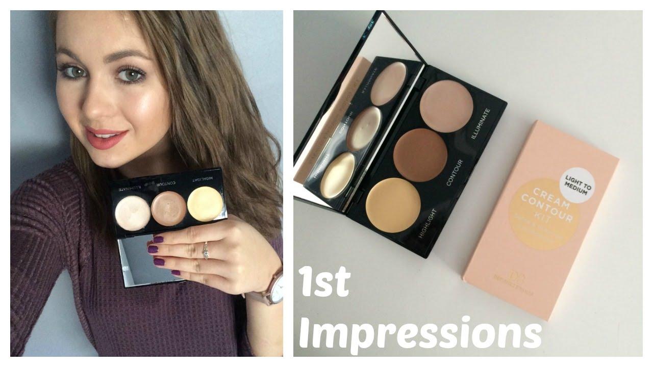designer brands cream contour kit 1st impressions youtube - Db Designer Brands