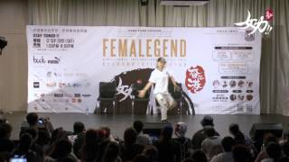 FemaLegend Hong Kong 2015 ~ Judge Solo , Suki