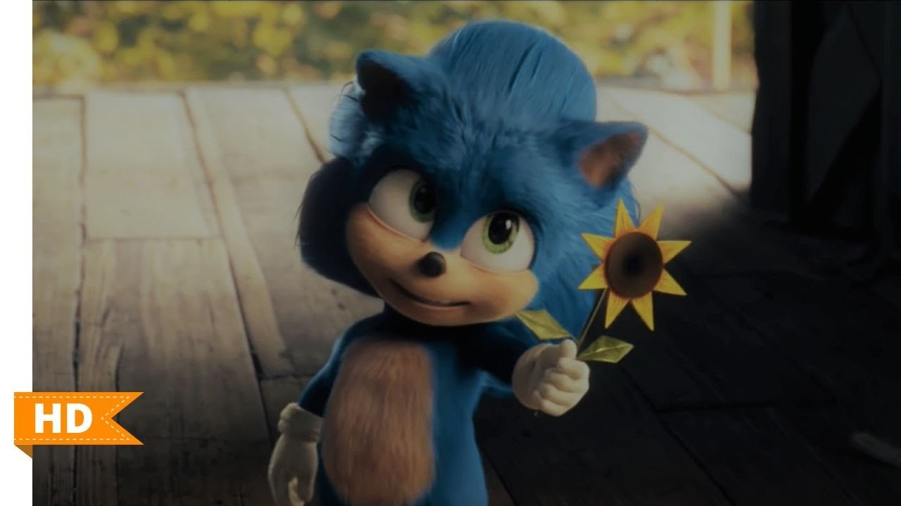 Sonic The Hedgehog 2020 Young Sonic Scene 1 10 Dot Movie Clips Youtube