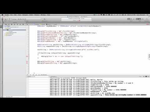 Understanding NSMutableString With Objective-C