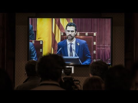 Pro-independence politician elected speaker of Catalan regional parliament