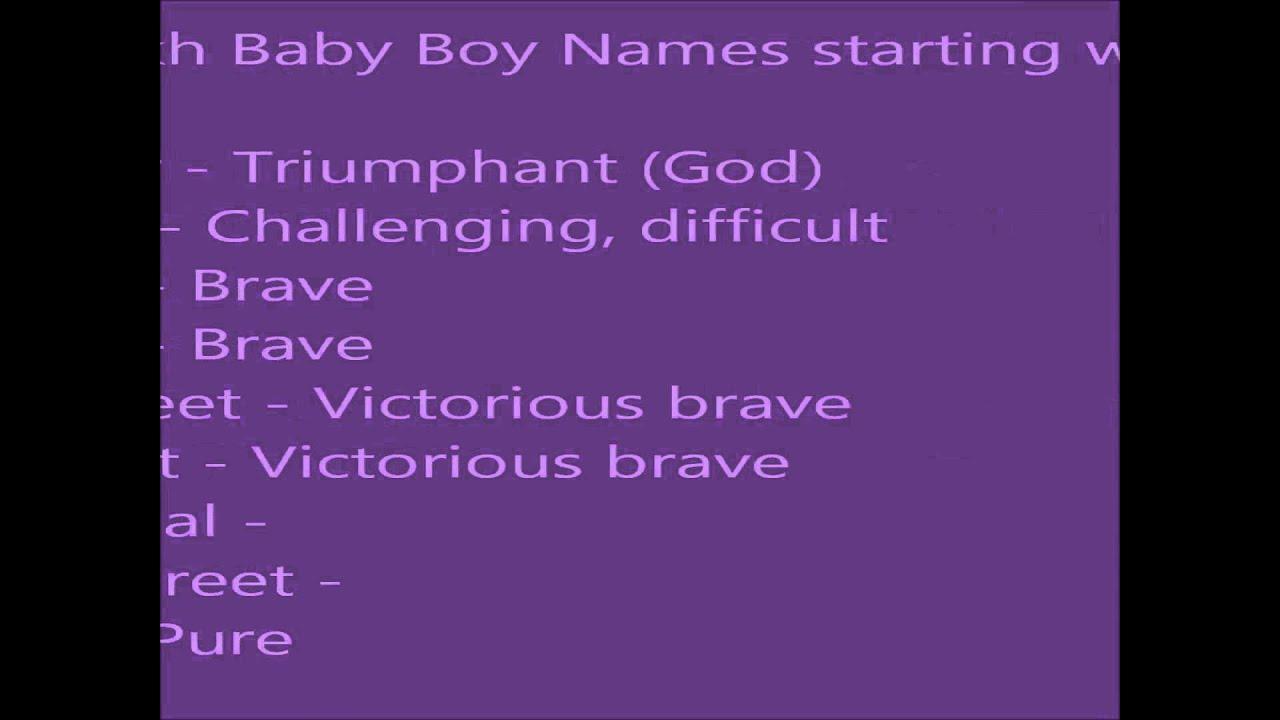 Baby Boy Quranic Names