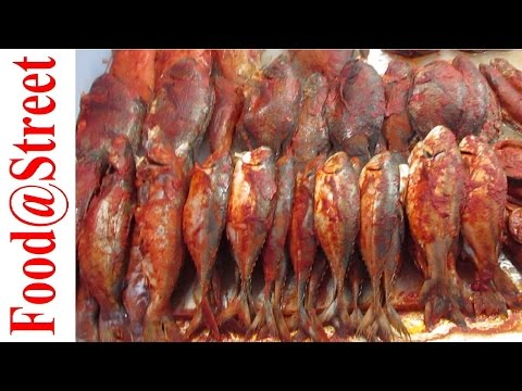 Street Food India - Indian Street Food Chennai - Fish Fry in Marina Beach || Food at Street