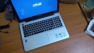 Hindi - Asus A555LA unboxing (4gb   i3 5010U   1TB HDD )