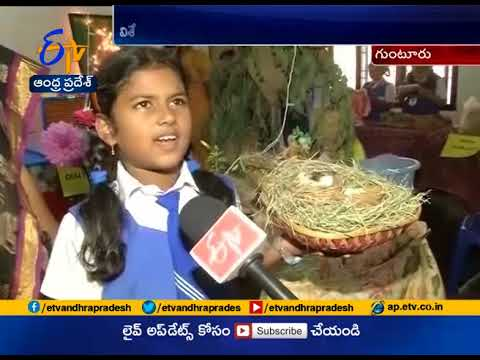 Science Expo Displays   Polavaram Project , Our Culture   at Oxford School   Guntur