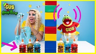 Twin Telepathy Slime + Cake Challenges with Moe the Monster and Weather Windy