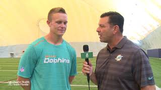 One-On-One With Cody Parkey Presented by Baptist Health South Florida