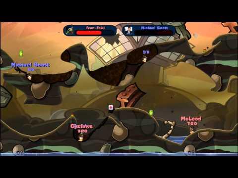 Worms Reloaded (PC) - Partida con MichaelScott22 (Online)