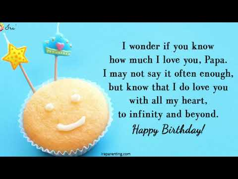 Happy Birthday Papa! Quotes | Wishes | Cards