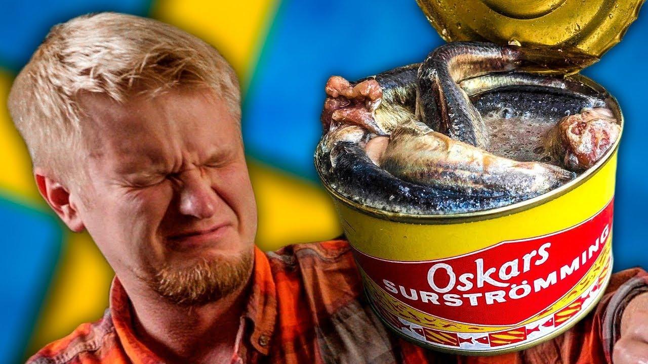 Деликатес сюрстрёмминг: гнилая рыба