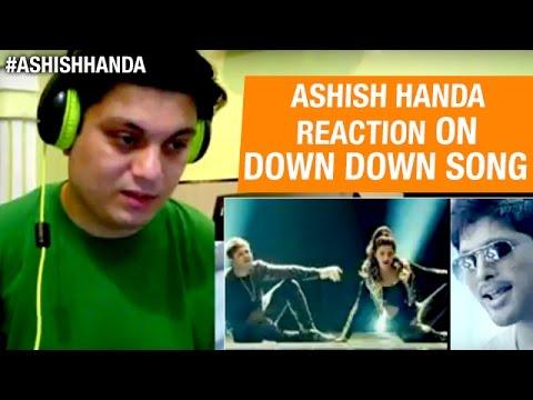 Down Down Video Song | Race Gurram Movie | Allu Arjun | Shruti Hassan | Reaction By Ashish Handa