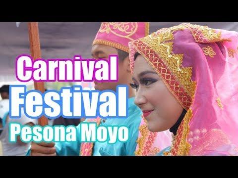 Pesona Wanita Sumbawa di Carnival Festival Pesona Moyo 2017