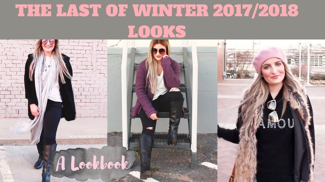 THE LAST OF WINTER OUTFITS | A LOOKBOOK 2