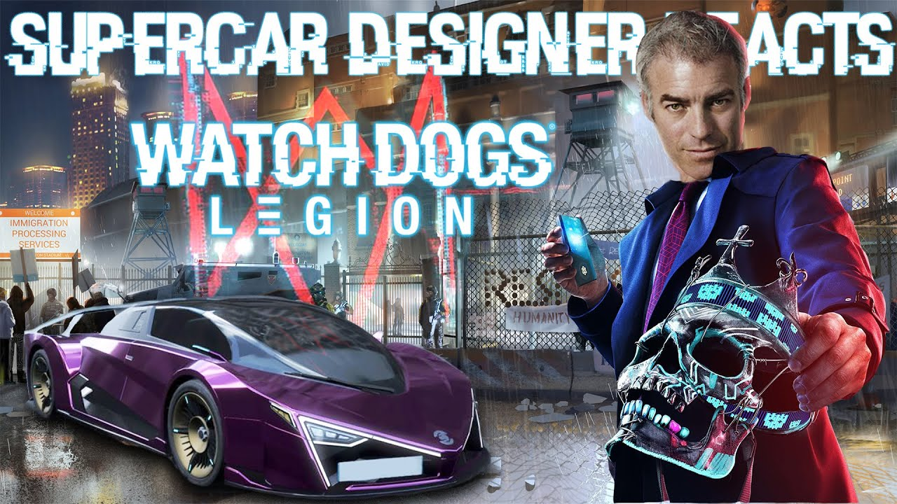 Supercar Designer Judges WATCH DOGS: LEGION's Vision For 2030's Car Designs!