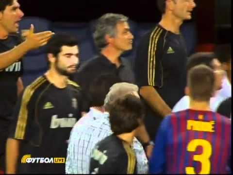 Bongda24h   Chiêm ngưỡng hành động  véo tai  đối thủ mang đúng thương hiệu Jose Mourinho