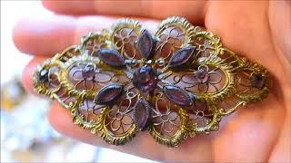 Big $660 Estate Sale Jewelry Haul Thrift Hunter #132