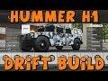 Forza 5   Hummer H1 Alpha Drift Build   Over 1,400 LB/FT Of Torque!