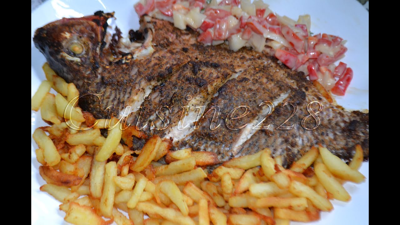 Poisson au four poisson braise cameroun youtube - Poisson image ...
