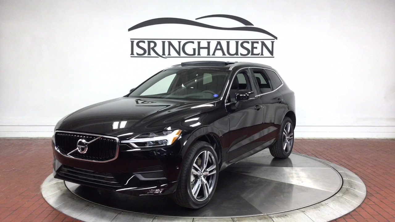 2018 volvo xc60 t6 awd momentum in onyx black metallic 041196 youtube. Black Bedroom Furniture Sets. Home Design Ideas