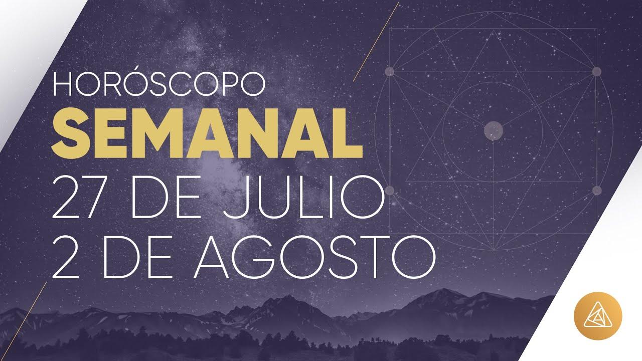 HOROSCOPO SEMANAL | 27 DE JULIO AL 2 DE AGOSTO | ALFONSO LEÓN ARQUITECTO DE SUEÑOS