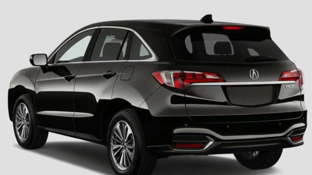 2018 Acura Rdx Black Redesign From 2017